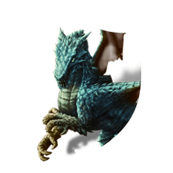 Blue dragon shield