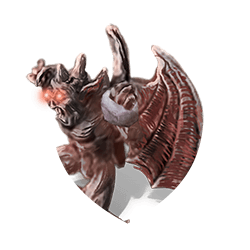 Gargoyle thrower shield
