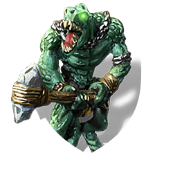 Lizardman hulk shield
