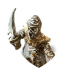 Mummy assassin shield