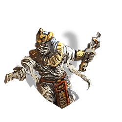 Mummy lord shield