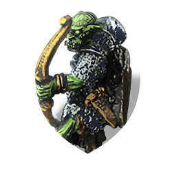 Orc archer shield