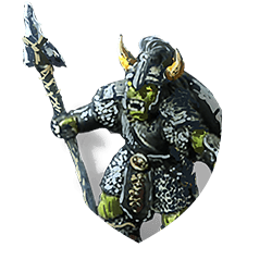 Orc captain shield