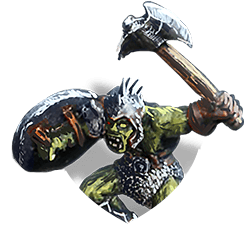Orc w axe shield