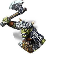Orc warrior shield