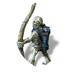 Skeleton archer shield