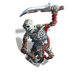 Skeleton giant shield