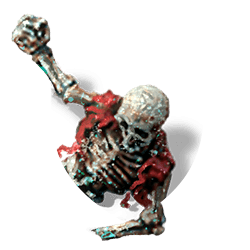 Skeleton torso shield